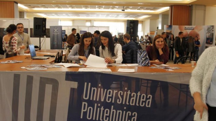 """Universitatea Politehnica Timișoara organizează """"Zilele Carierei"""""""