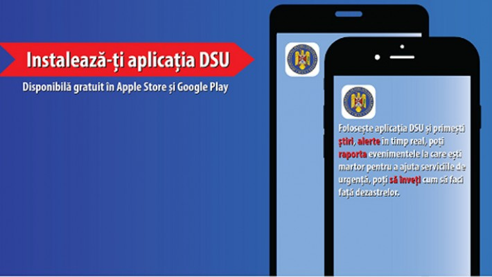 A fost lansată aplicația DSU pentru telefoane mobile
