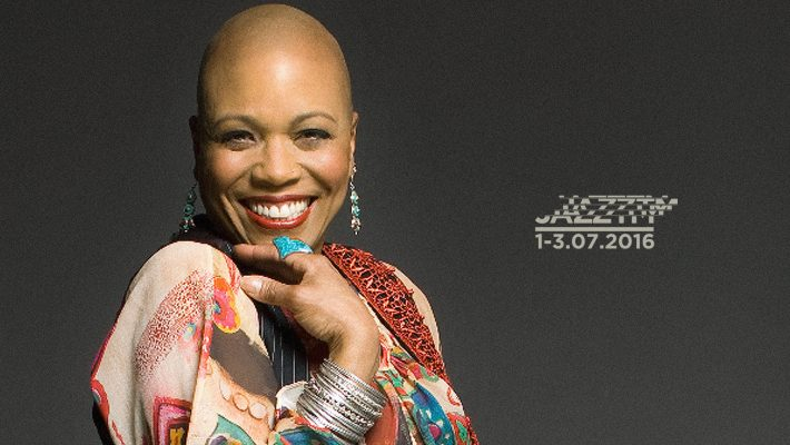 Dee Dee Bridgewater, câștigătoare a trei premii Grammy, pe scena JazzTM