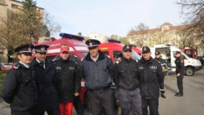 Voluntariat în cadrul inspectoratelor pentru situaţii de urgenţă
