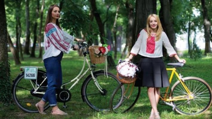 Ia românească pe bicicletă