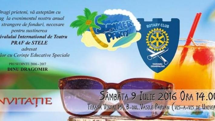 Rotary Club organizează un eveniment de strângere de fonduri