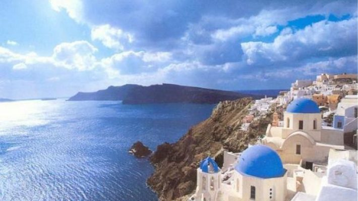 Spre Santorini