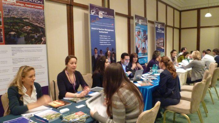 Instituțiile de învățământ din străinătate caută în Timișoara tineri români pentru studii
