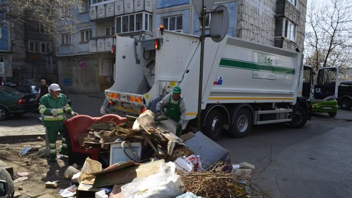 Continuă curățenia de toamnă, la Timișoara