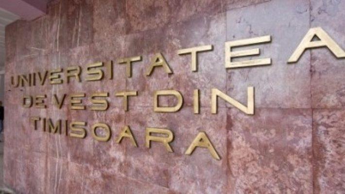 Admitere online la Universitatea de Vest din Timișoara