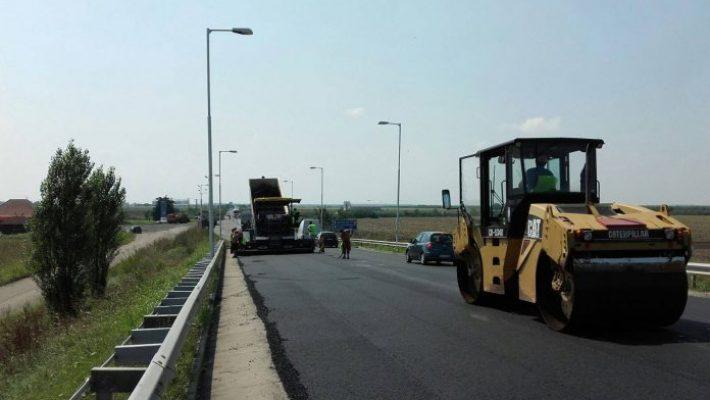 Restricții de circulație pe autostrada A1 Timișoara – Lugoj, Lotul 2