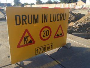 Închiderea traficului rutier pe strada Grigore Alexandrescu