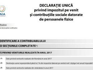 Luni, 16 iulie 2018 – termenul limită pentru depunerea Declarației Unice