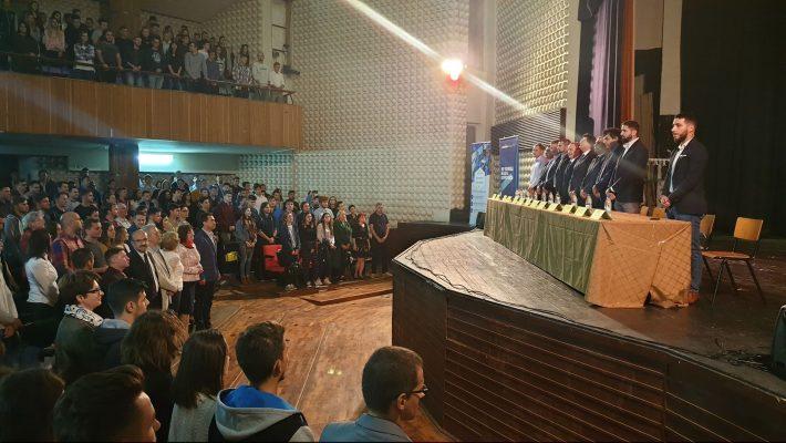 Deschiderea anului universitar la UPT a adus mii de studenți în amfiteatre