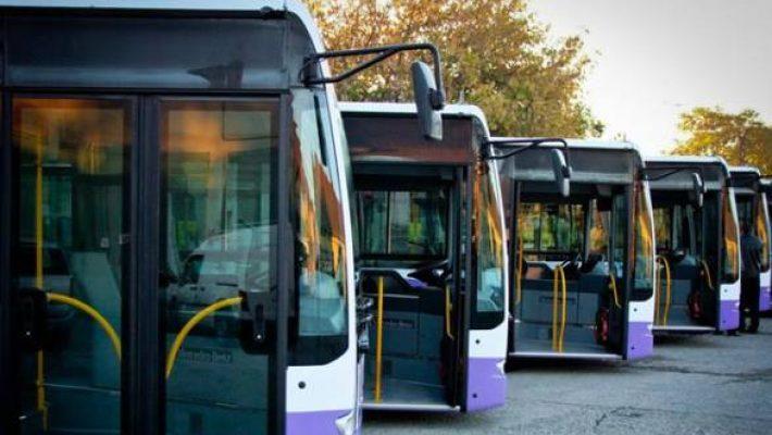 Troleibuze și autobuze cu traseu modificat sâmbătă, de 1 decembrie