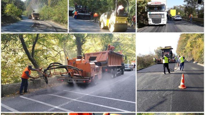 Lucrări pe drumurile naționale din regiune și în weekend
