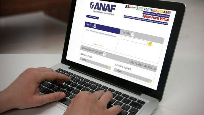 ANAF oferă contribuabililor servicii electronice care sunt disponibile 24h/24h
