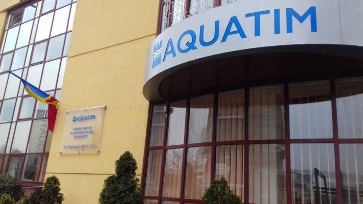 Investițiile Aquatim în anul 2018