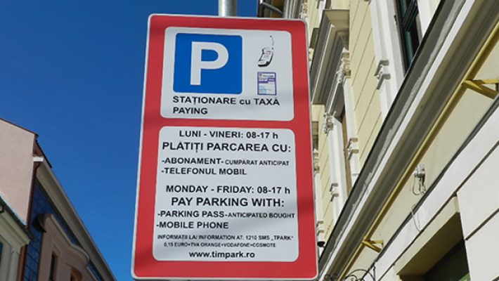 Abonamente de parcare TimPark pentru 2019