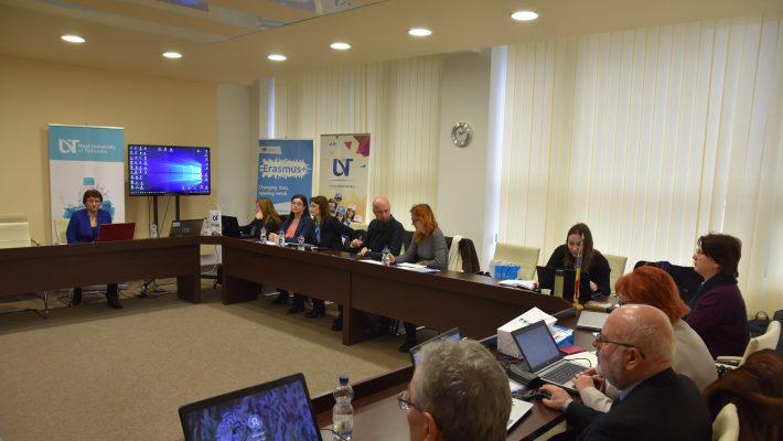 Proiect finanțat prin programul Erasmus+, la Universitatea de Vest din Timisoara