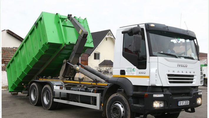 Colectarea deșeurilor periculoase din zona 1 Timiș