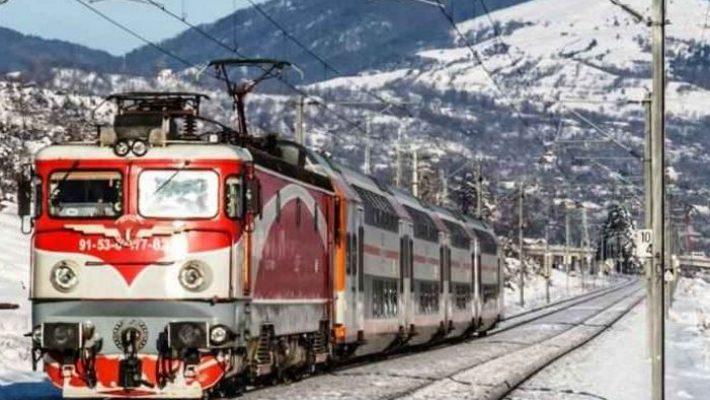 CFR Călători introduce în circulaţie Trenurile Zăpezii