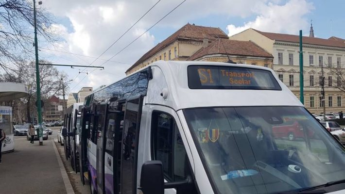 Nouă linie de transport școlar de luni