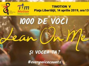 Timotion cântă: Gospel pe traseu și peste 1000 de coriști la final