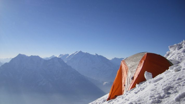 Horia Colibășanu a ajuns la 4700m la tabăra de bază a muntelui Dhaulagiri