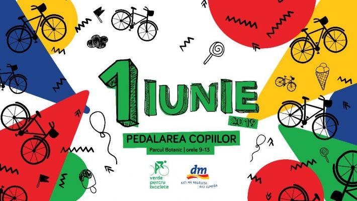 Pedalarea copiilor – Verde pentru Biciclete