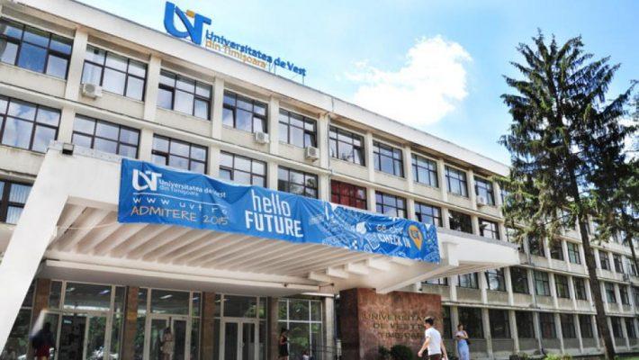 UVT: O nouă serie de 84 de programe de studii masterale