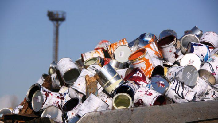 Campanie de colectare a deșeurilor periculoase