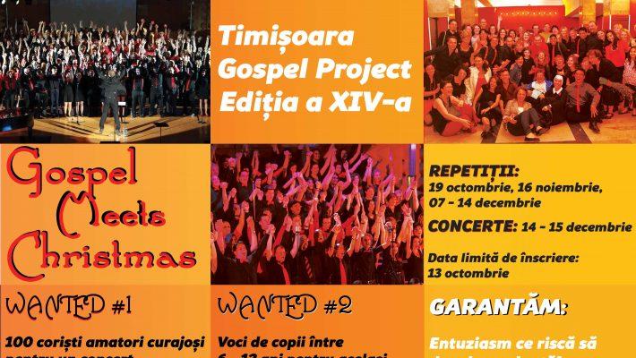 The Timișoara Gospel Project revine cu o ediție de Crăciun