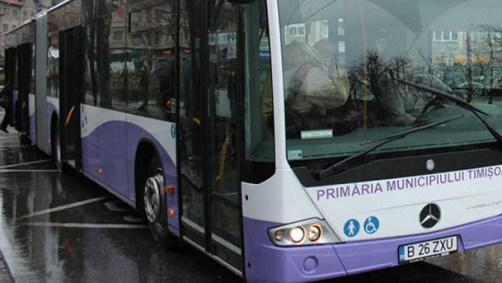 Circulaţia mijloacelor de transport în comun ale S.T.P.T. revine la normal de luni,18 mai