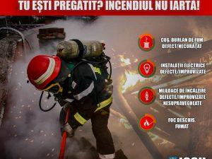 Măsuri de prevenire a incendiilor în perioada sezonului rece