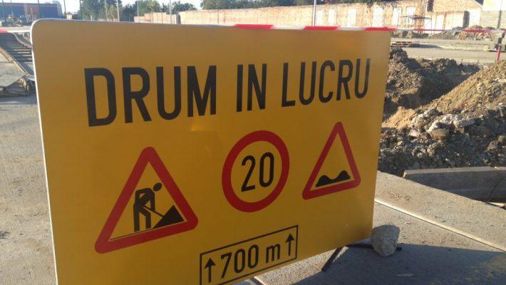 Închiderea traficului rutier pe unele străzi din Timișoara