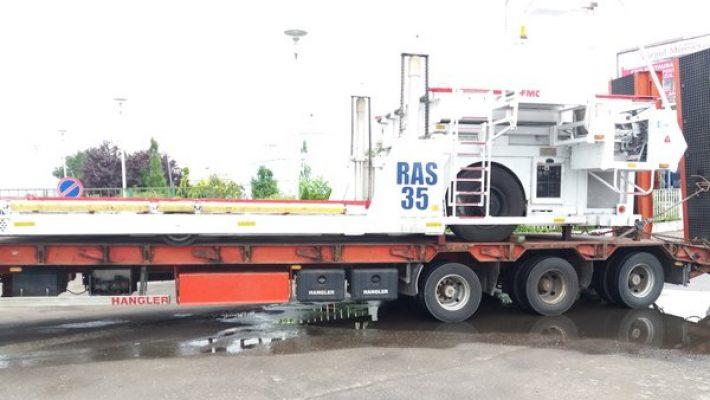 Transport agabaritic pe ruta Moravița PTF – Dumbrăvița