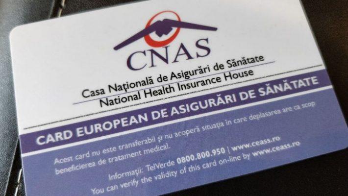 Asigurații pot solicita Casei de Asigurări eliberarea unui card european de sănătate duplicat
