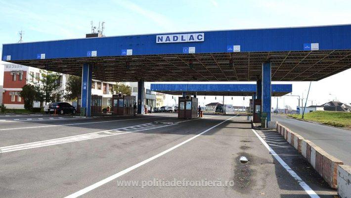 Interval orar modificat pentru intrarea în Ungaria, prin Punctul de Trecere a Frontierei Nădlac I